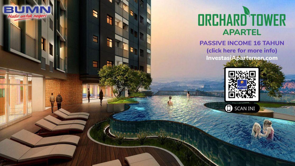 Investasi Apartemen dan Properti ROI 200% dan Passive Income Selama 16 Tahun Managed by KYRIAD Hotel Indonesia Sangat Aman dan Hasil Pasti